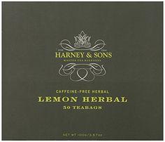 Harney and Sons Tea Bags, Lemon Herbal, 50 Count Harney & Sons http://www.amazon.com/dp/B00F9WMMVY/ref=cm_sw_r_pi_dp_J0Wsub0JWKR60