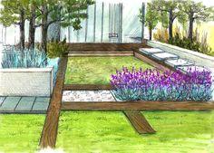 Wizualizacje ogrodów • Automatyczne nawadnianie • OGRODOMANIA