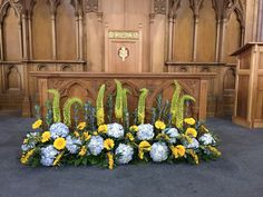 Venue Decorations | Vickys Flowers - Wedding Flower service with style and creativity | East Calder , West Lothian Flower Service, Yellow Wedding Flowers, Floral Wreath, Creativity, Decorations, Wreaths, Style, Swag, Flower Crowns
