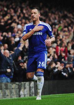 The Captain scores - Chelsea FC 6-1 QPR