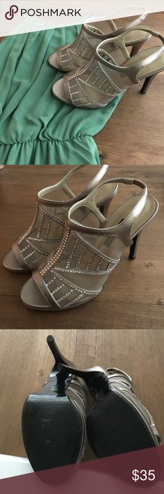 Sparkles Heels ✨ Caparros sparkly heels! Size 6.5! Worn once, perfect condition, easy to walk in and very cute!! Caparros Shoes Heels
