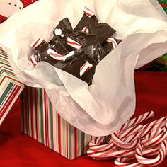 Holiday Peppermint Bark #thechew