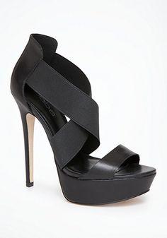 bebe Elly Elastic Sandals