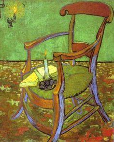 van gogh chair   Van Gogh's Portrait of Gauguin's Chair