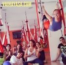 Aerial Yoga #aerialyoga #vaihayasa #yogaswing #yogaaereo #pilates #fitness #aerial