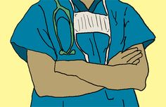Why do doctors wear green or blue scrubs? Scrubs used to be white—the color of cleanliness #medicalsupplies