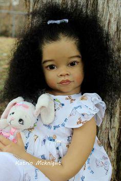 Baby Dolls For Kids, Toddler Dolls, Reborn Doll Kits, Realistic Dolls, A Hook, Beautiful Babies, Sculpting, Black Art, Ideas