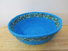 FABULOUS coiled fabric basket and only $35 - unbelievable!