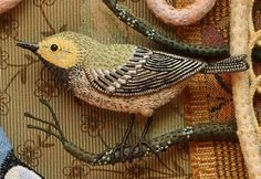 "warbler1 From Sally Mavor from ""Wee Folk"" fame. Gives a full description of how she makes these birds."