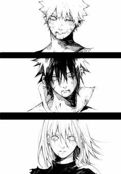 Naruto. Sasuke and Sakura