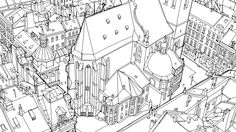 In Fantastic Structures The Follow Up To His Popular Debut Coloring Book Cities