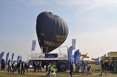Captif avec la montgolfière Trelleborg à Outarville pour Innovagri, les 04, 05 et 06 septembre 2012 - Air-Pegasus montgolfiere