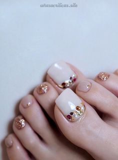 elegant and stylish bright french toe nails design; elegant toe nails in bright colors; bright color design nails for toes; pedicure Elegant And Stylish Bright French Toe Nails Design Pretty Toe Nails, Cute Toe Nails, Pretty Toes, My Nails, French Nail Designs, Colorful Nail Designs, Toe Nail Designs, Nails Design, French Toe Nails
