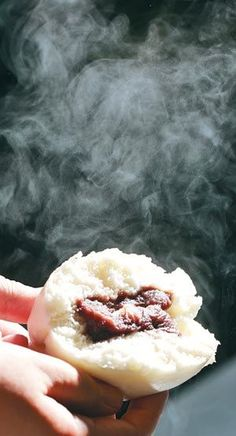 Hobbang is a hot snack sold throughout South Korea. It is a pre-cooked ball of rice flour filled with something such as red bean paste, similar to Chinese Doushabao. The hobbang is steamed to keep it warm and sold at small shops like 7-11, Buy the Way, and many small independent grocery stores throughout the winter months.