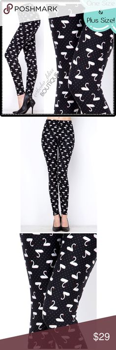 Skins Leggings, Black And White Leggings, Spanx Faux Leather Leggings, Boho Boutique, White Swan, Fashion Design, Fashion Tips, Fashion Trends, Colorful Leggings