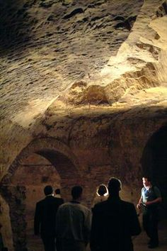 Wabasha Street Historic Cave Tour by Down In History (40min) is $6.00 each 5:00pm Thursday, 11:00am and 12:00pm Saturday, and 11:00am Sunday.