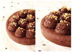 Fondant+au+chocolat+et+sa+mousse+aérienne