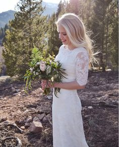 Malmrose Bridal, white, ivory, wedding dress, outdoor wedding, flowy dress, cap sleeve, beading, train, bridal pictures, bridals and groomals, bridals in the mountains, off the rack, designer wedding dress, custom wedding dress, Utah weddings, utah bride, modest wedding dress, wedding dress with sleeves, LDS bride, Temple dress, first look. makiraphotography