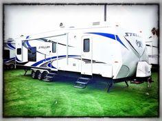 STELLAR 32KLSG Toy Hauler Trailers, Recreational Vehicles, Camper, Campers, Single Wide