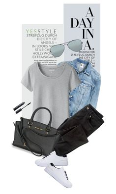"""YESSTYLE.com"" by monmondefou ❤ liked on Polyvore featuring Wrap, Ray-Ban, yesstyle and prefall"