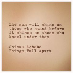Items similar to Chinua Achebe Things Fall Apart Quote on Etsy Things Fall Apart Book, Falling Apart Quotes, Chinua Achebe, Favorite Book Quotes, African Proverb, Essay Topics, Wall Quotes, Life Quotes, So Little Time