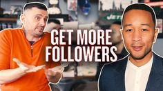 The Key to Growing on Instagram | #AskGaryVee with John Legend Planet Of The Apps, Gary Vaynerchuk, Get More Followers, Gary Vee, John Legend, Gwyneth Paltrow, New Instagram, Watches For Men, Men's Watches