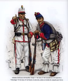 Military Art, Military History, Military Uniforms, Bolivia, War Of The Pacific, American War, South America, Latin America, Napoleon