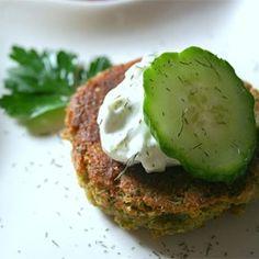 Sean's Falafel and Cucumber Sauce Allrecipes.com