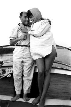 Alfred Eisenstaedt and Sophia Loren