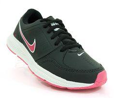 d1e61f9984 Tênis Feminino Nike Flex Fit Preto e Rosa