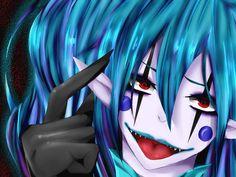 Creepy Pasta Family, Candy Pop, Laughing Jack, Jeff The Killer, Horror, Fandoms, Fan Art, April Fools, Anime