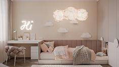 Kids bedroom furniture - mocco on Behance Room Design Bedroom, Girl Bedroom Designs, Home Room Design, Room Ideas Bedroom, Small Room Bedroom, Kids Room Design, Girls Bedroom, Home Interior Design, Bedroom Decor