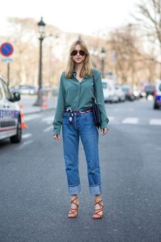 Spring Scarves Are A Massive Fashion Trend: Here's How To Do It Right #refinery29  http://www.refinery29.com/spring-scarves-outfits#slide-2  Use it as a belt, because you can.For a similar style, try: