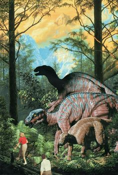 hike with dinosaurs