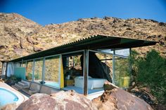 Glass act: Architect Albert Frey's pied-à-terre is open to the public. Early modernists found a surfeit 