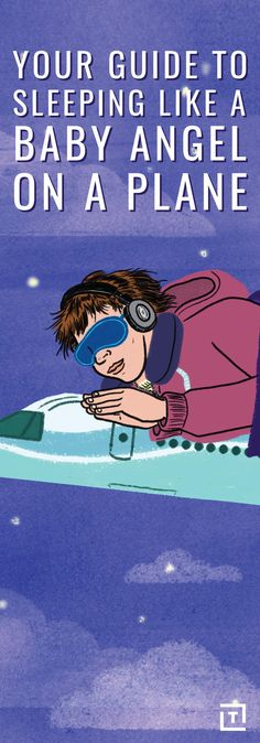 We see you tossing and turning there. Here's how to sleep (aka time travel) the next time you're on a plane. Air Travel, Travel Light, Sleeping On A Plane, Long Flights, Italy Travel, Italy Trip, How To Get Sleep, Travel And Leisure, Vacation Trips