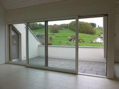 Hebeschiebetüre in Holz-Metall Windows, Metal, Timber Wood, Window, Ramen