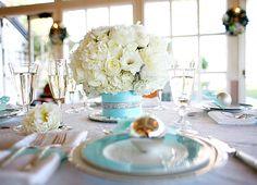 wystrój tiffany blue wesele