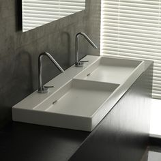 Found it at AllModern - Ceramica I Urban Ceramic Double Bathroom Sink
