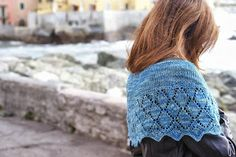 Lace shawl Diamante, by a knitting bear... Pattern is coming!