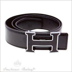d7b5f07bef31a men s accessories - leather belts Black Hermes Belt