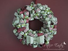Christmas Wreath - Seasons of Style, Spring Blossom Musings