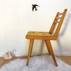 Orangevertevintage — Chaise Vintage Pieds Compas