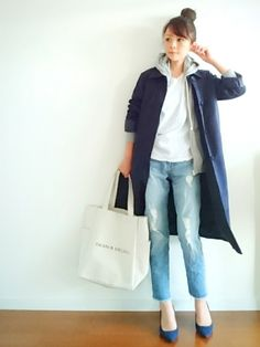 u.e.made*│SEVENDAYS=SUNDAY Down Jacket/Coat Looks - WEAR