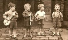 kid band. Photograph