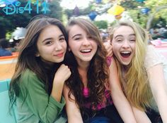 Rowan Blanchard, Sarah Carpenter, and Sabrina Carpenter