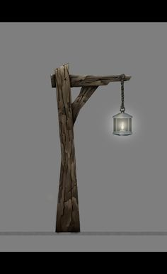 Wooden light post pinteres wood lamp post google search aloadofball Image collections