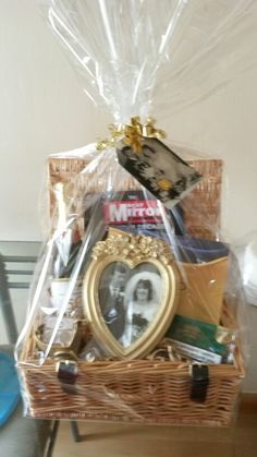 Gold Hamper For Grandpas 50th Golden Wedding Anniversary Contains The Mirror Newspaper Book With All