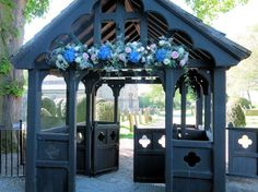 Big and Blousy Spring Wedding Blooms - Flowers by Nattrass Middleton Lodge, Magical Wedding, St Michael, Simply Beautiful, Spring Wedding, Flower Designs, Gazebo, Wedding Flowers, Bloom