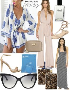 Travel style: packing for my trip to the Amalfi Coast, Italy